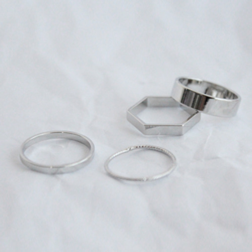 Polygon rings set