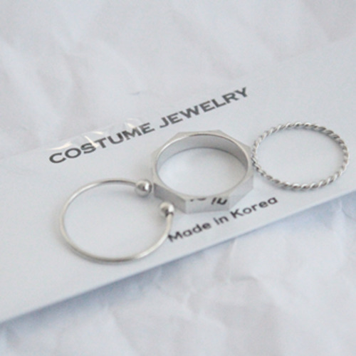 Nut rings set