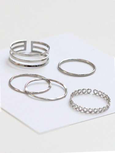 Two ling rings set